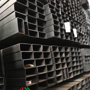 Thép hộp chữ nhật đen 40x80