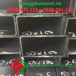 Thép hộp chữ nhật đen 50x100