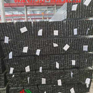 Thép hộp chữ nhật mạ kẽm 13x26