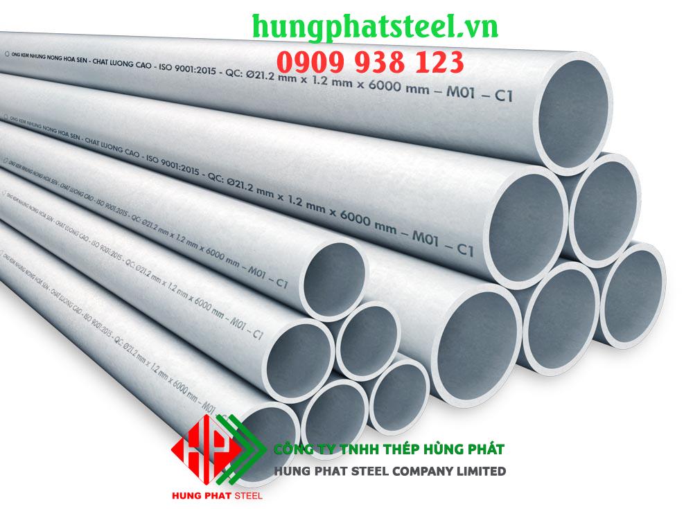 Địa chỉ bán ống thép Hoa Sen tại Hà Nội uy tín, giá rẻ